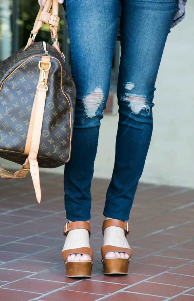 distressed jeans thestylegathering.com jeans