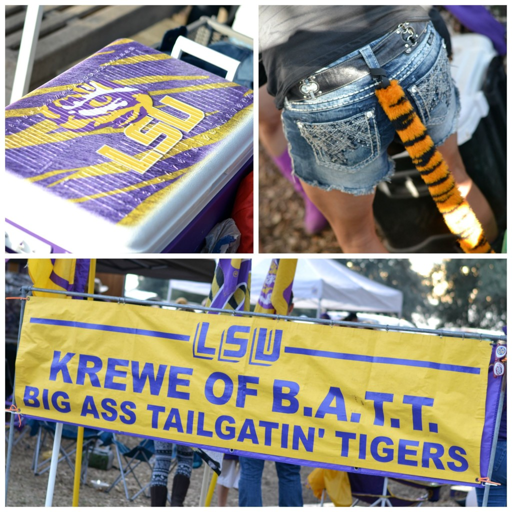 LSU TAILGATE ON THE STYLEGATHERING www.thestylegathering.com